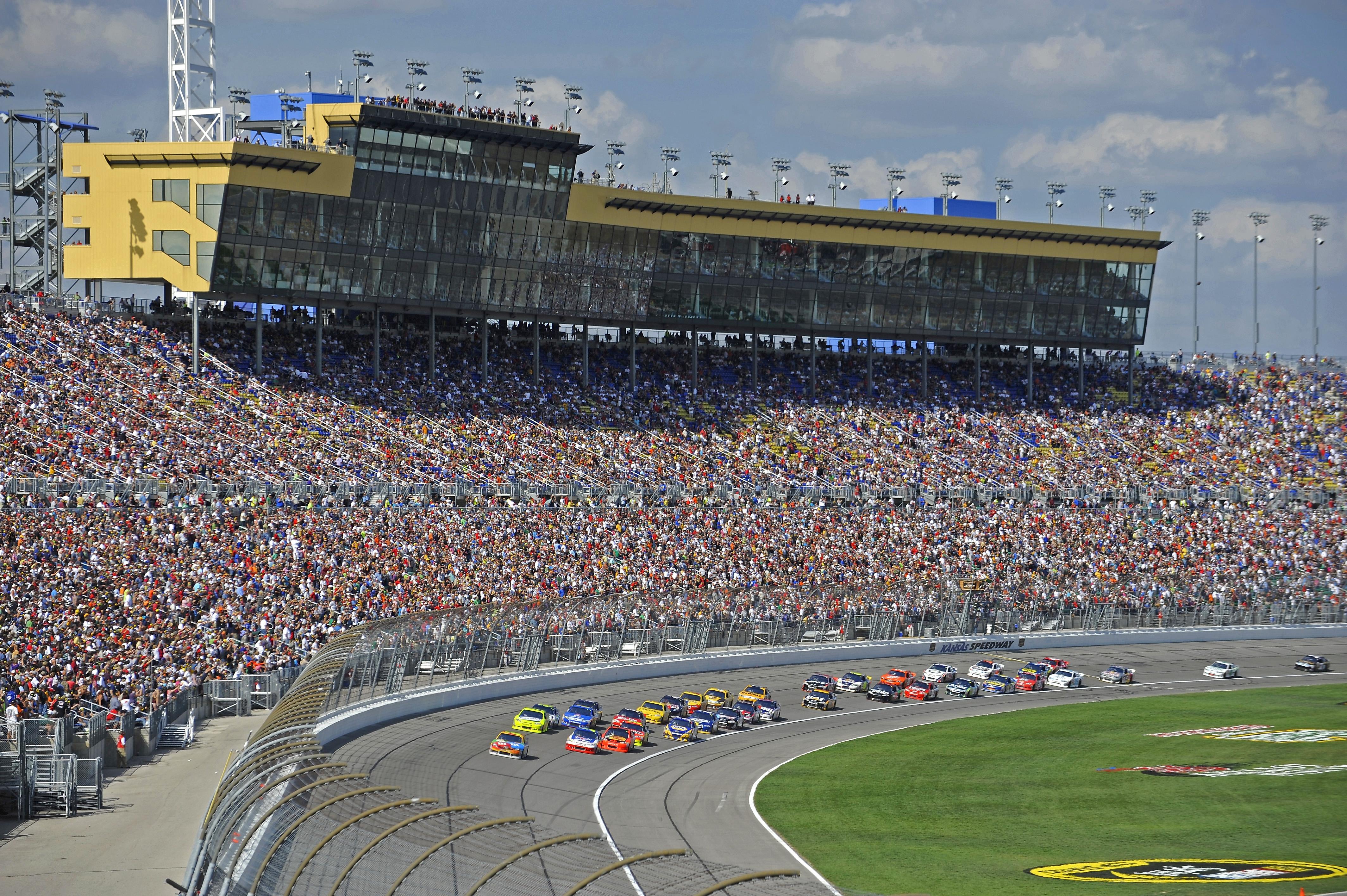 Kansas Speedway NASCAR racing experience