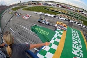 Kentucky Speedway NASCAR racing experience