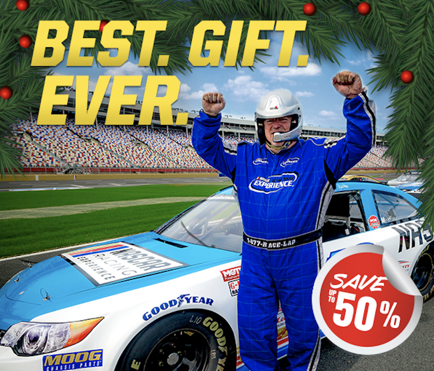 Dover international Speedway Richard Petty Driving experience Gift