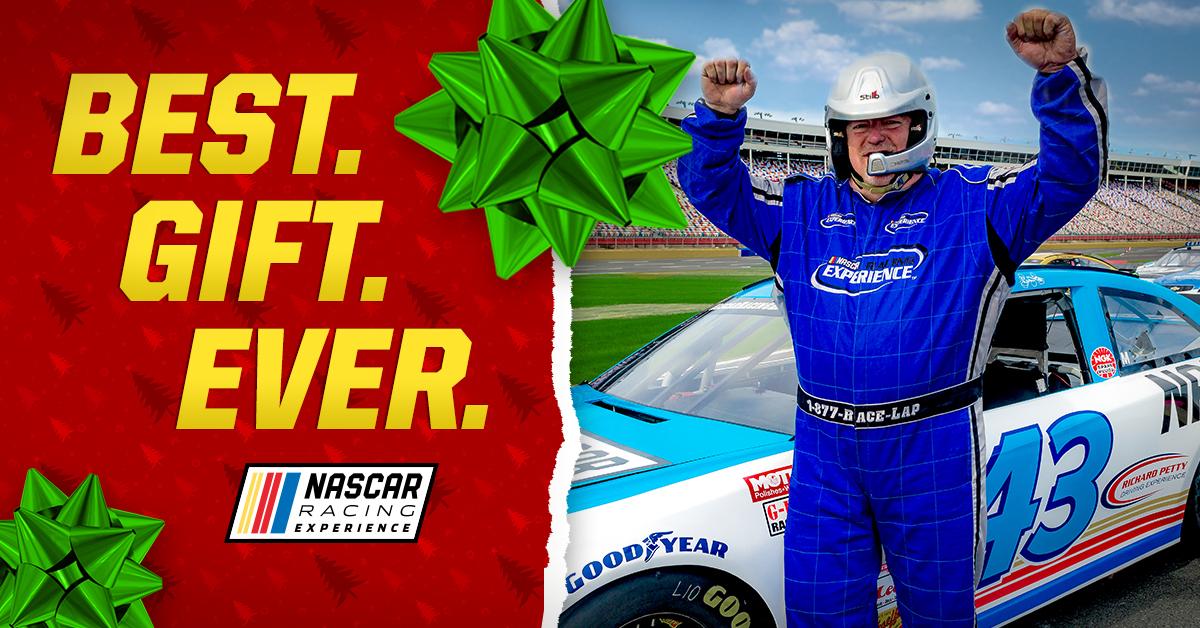 NASCAR Racing Experience Holiday Gift