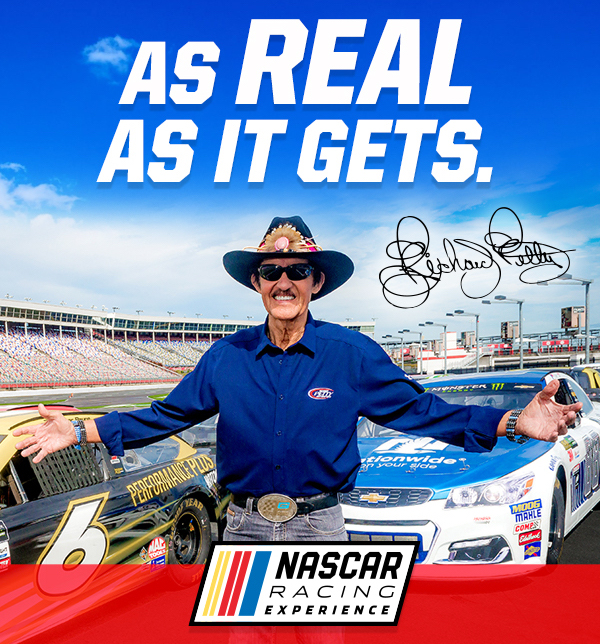 Richard Petty driving experience New Hampshire Motor Speedway Gift