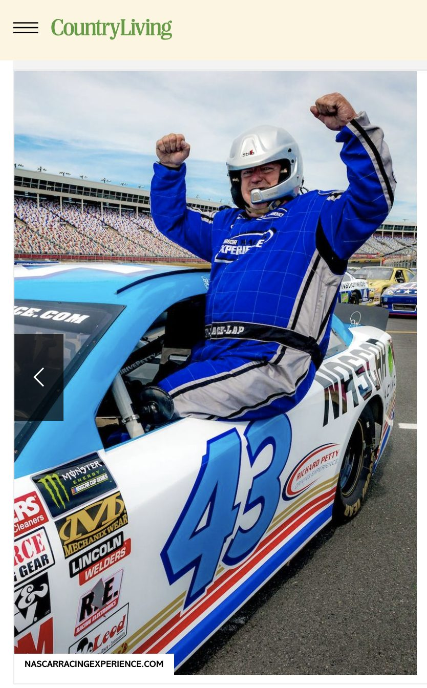 NASCAR Racing Experience Country Living