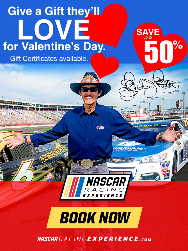 NASCAR Racing Experience Valentines Day Gift