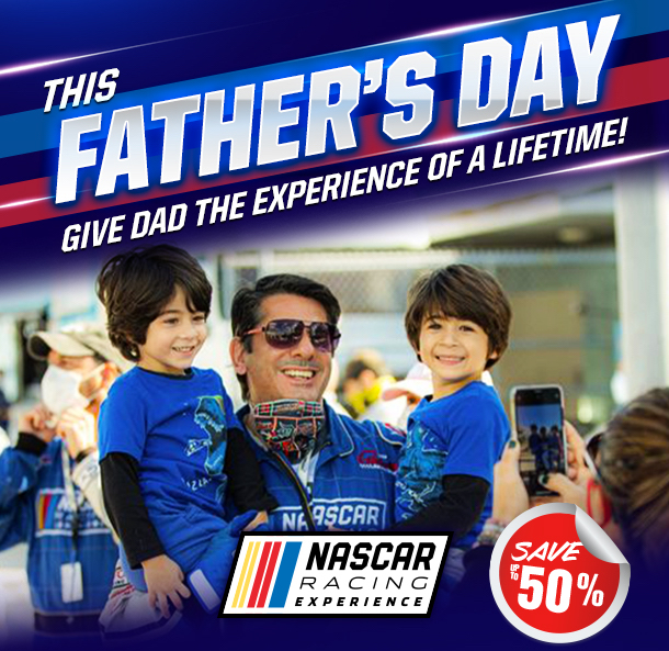 NASCAR Racing Experience Dads Day Gift