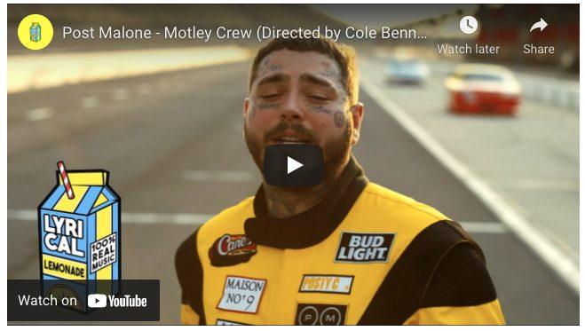 Post malone NASCAR Racing Exp
